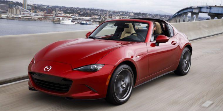 The 2017 Mazda MX 5 Miata RF—fancy new looks same great driving
