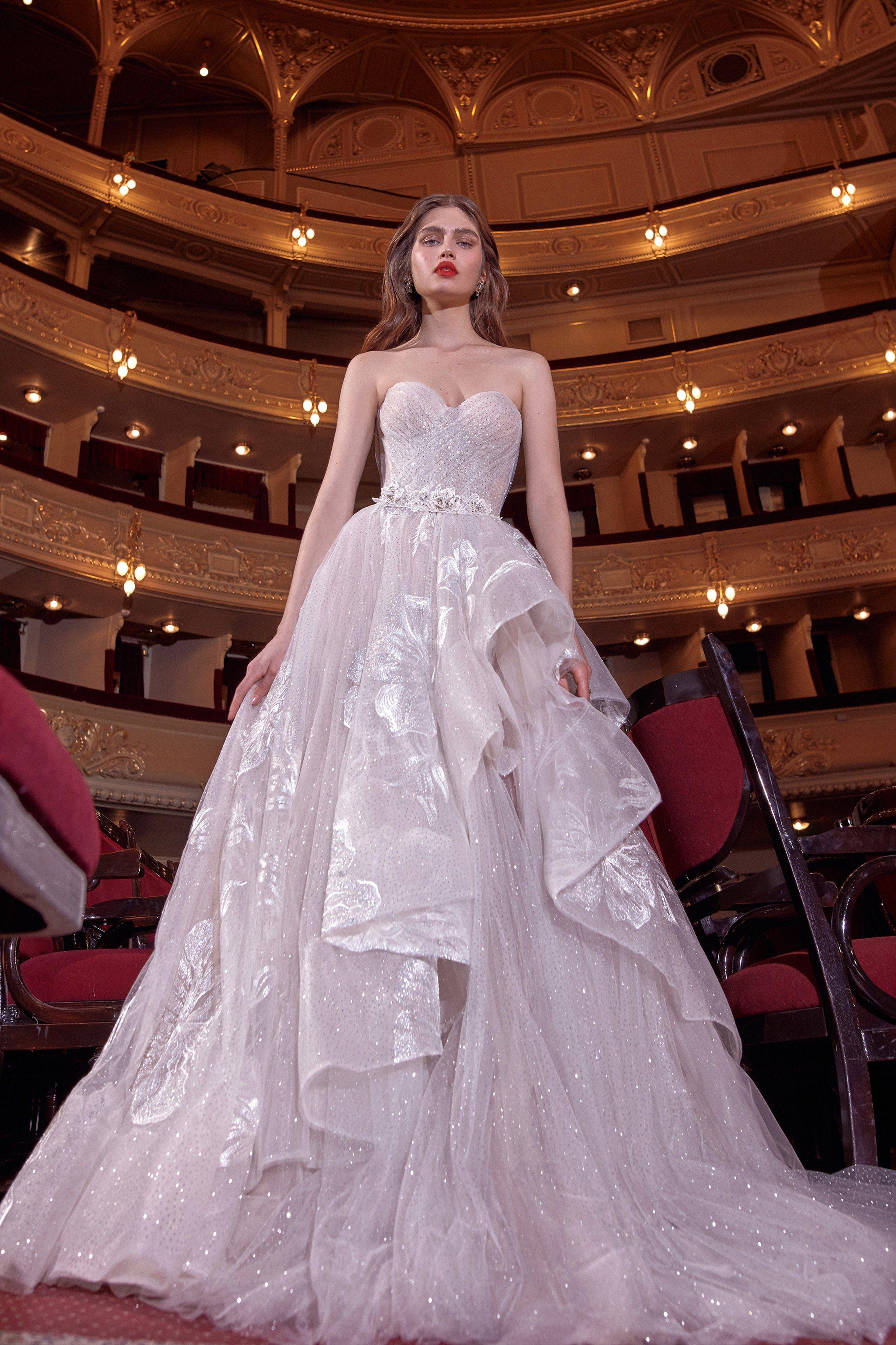 Galia lahav bridal spring 2020 fashion show in 2020