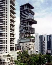 Multi-story HOME owned by one man in Mumbai. HIS HOUSE. This sickens me beyond reckoning.