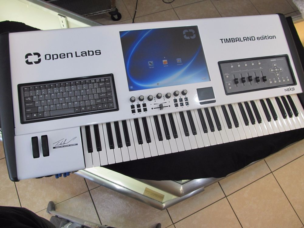 details about openlabs timbaland special edition neko 61 keyboard workstation open labs my. Black Bedroom Furniture Sets. Home Design Ideas