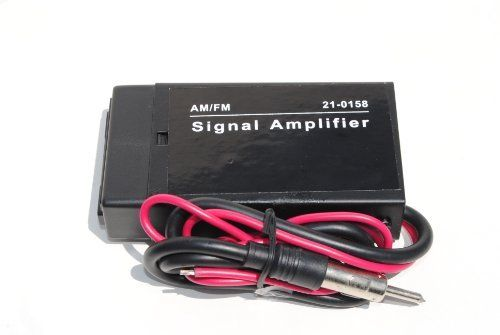 Car Boat RV Radio Stereo FM AM Antenna Signal Booster Amplifier by
