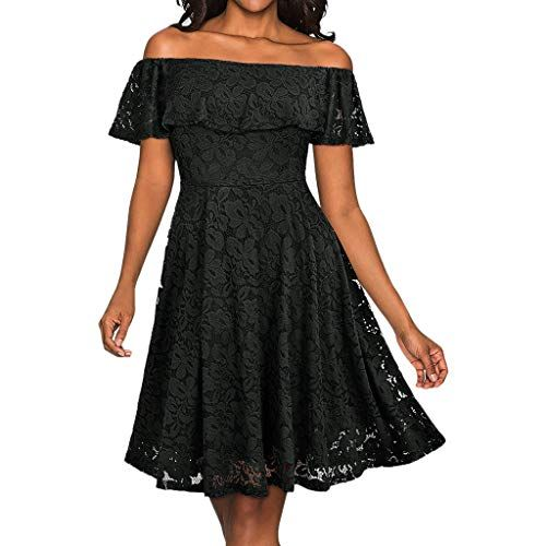 dd9cf5569 Vectry Vestido Largo Espalda Encaje Vestidos Mujer Fiesta Cortos Vestidos  Midi Verano Vestidos Adolescentes Chica Vestidos