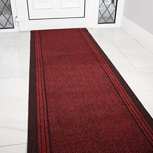 Best The Rug House Red Rubber Backed Very Long Hallway Hall 400 x 300