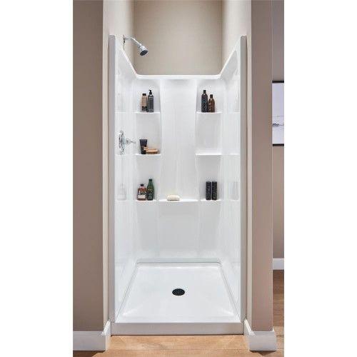 Delta Bathing 36 X36 Wht Classic Base 40054 Unit Each Shower
