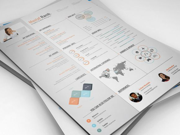 Infographic Resume Creativework  Templates  Templates