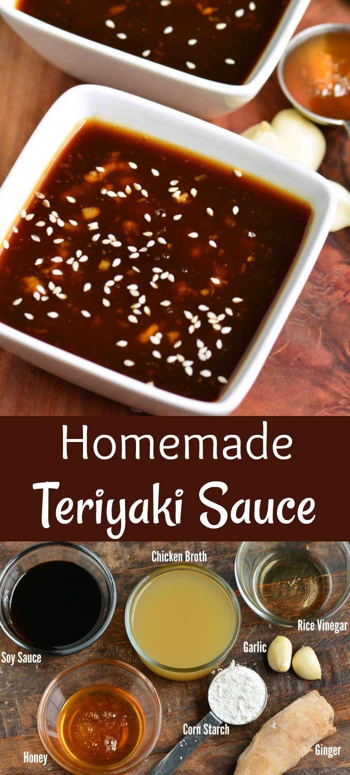 Homemade Teriyaki Sauce