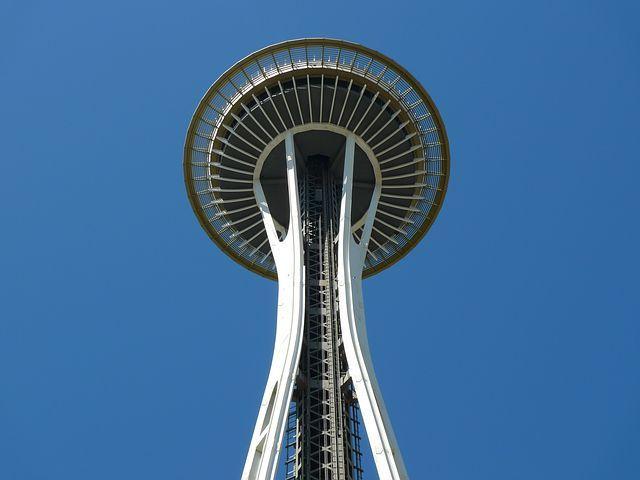 Space Needle Seattle Washington Landmark Tall