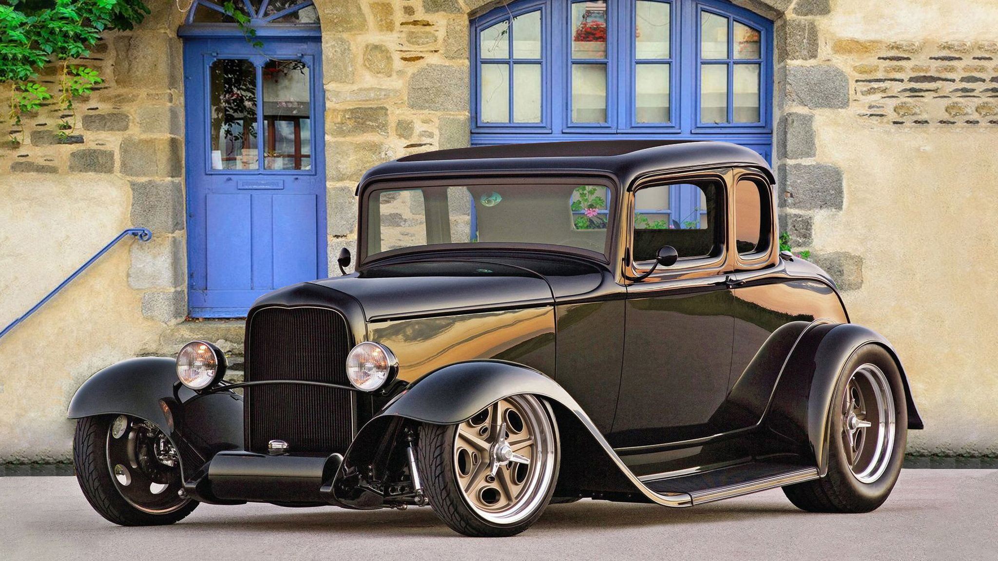1932 Ford 5 Window Coupe Blk High Definition Wallpaper 1932 Ford 5 Window Coupe 1932 Ford Coupe