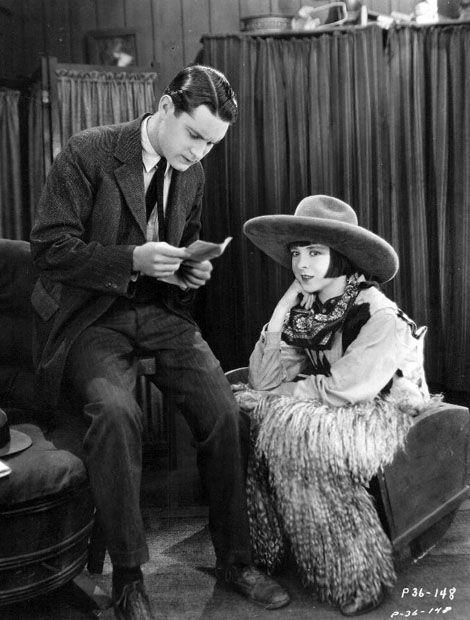 """Lloyd Hughes & Colleen Moore  """"The Desert Flower""""   (1925)"""