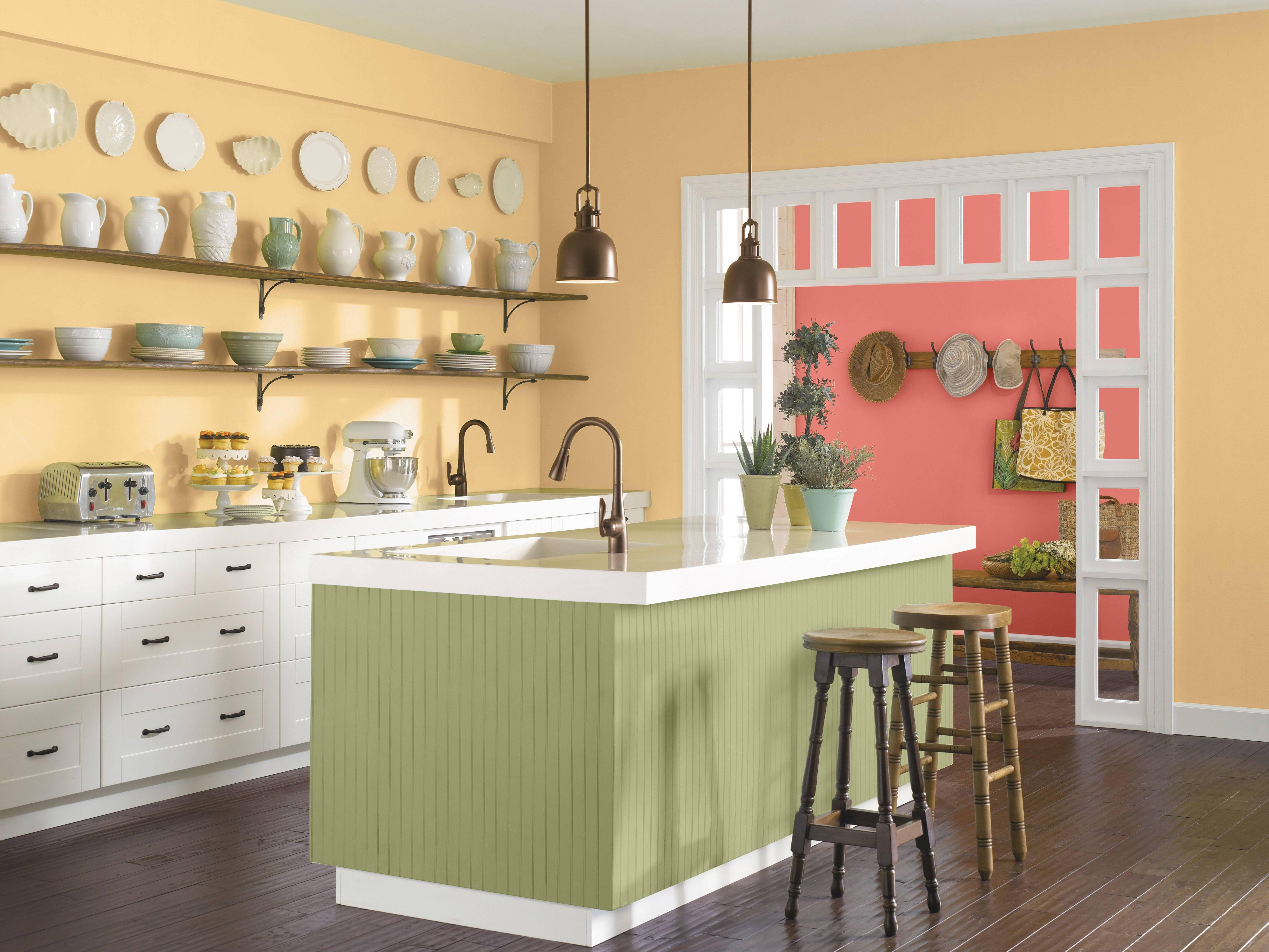 100 Cabinet Designs Ideas For Modern Kenyan Kitchens Kitchen Cabinets Color Combination Kitchen Cabinet Color Schemes Modern Kitchen Paint