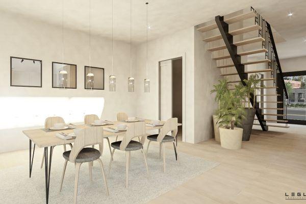 Plan de Maison Moderne Ë_101 Leguë Architecture AA CASA HOME SP