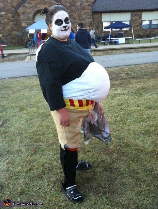 kung fu panda costume - Kung Fu Panda Halloween