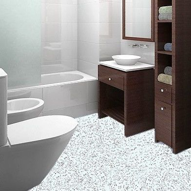 White Granite Effect Sparkly Flooring Glitter Sparkle Vinyl Lino Safety Floor In Home Furniture Diy Materials Tiles Ebay