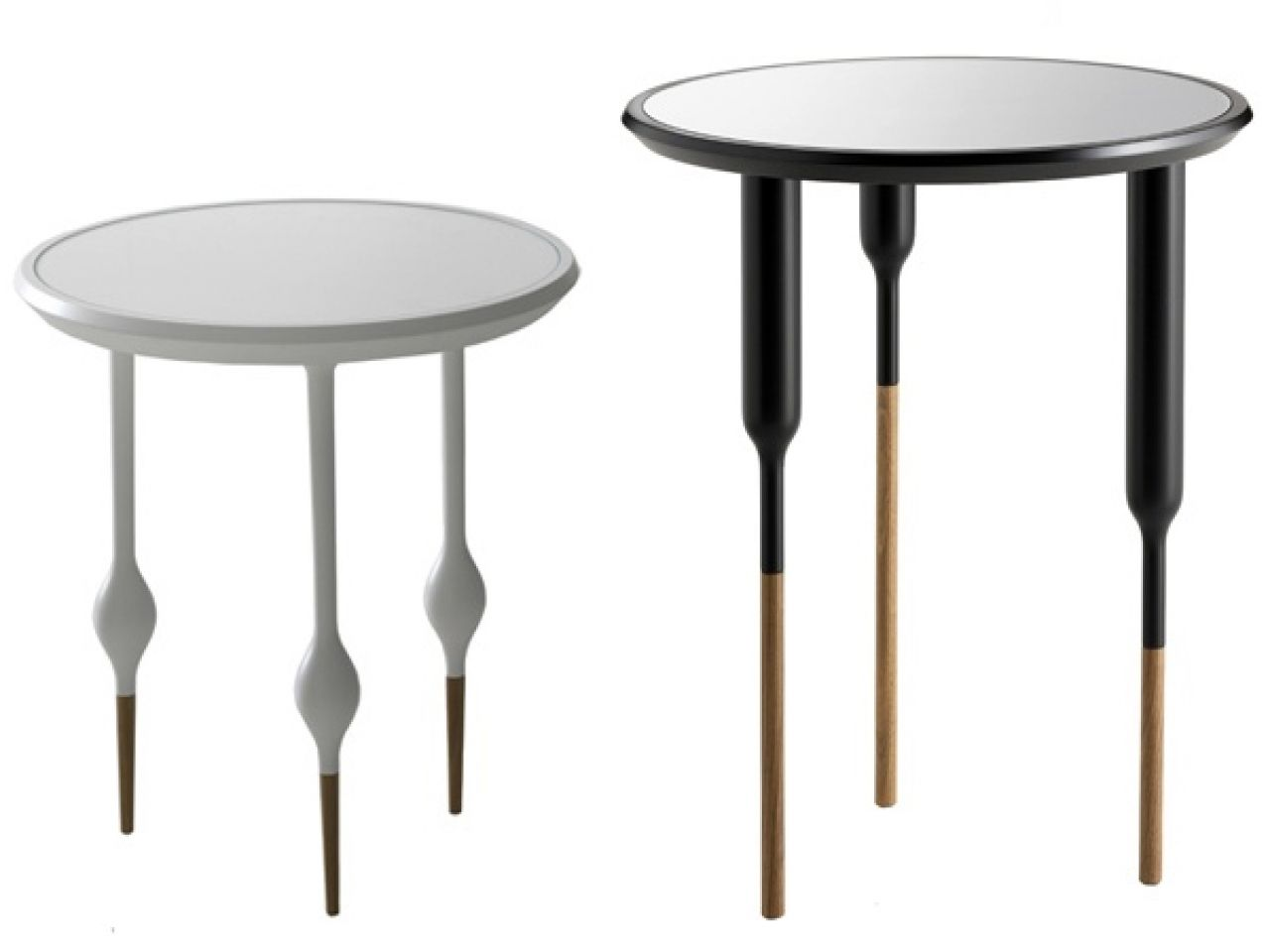 A Modern Interpretation Of The Century French Furniture Style, These  U0027Philippe Iu0027 Small Side Tables And Coffee Tables By Designer Sam Baron Are  A [.