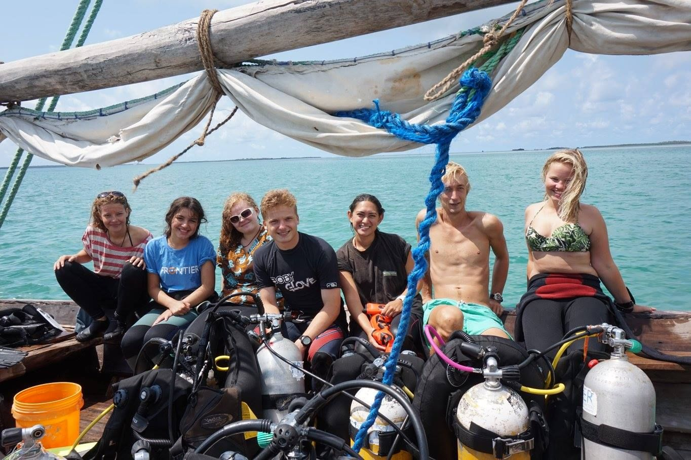 Interview: Nadia Frontier - Marine Conservation & Diving Volunteer frontier.ac.uk | frontiergap.com #interview #blog #diving #animals #biology #marine #marinelife #Tanzania #volunteer #frontiervolunteer