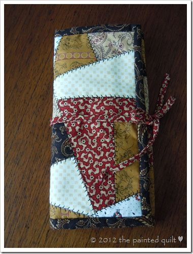 Needle Case Tutorial from the Painted Quilt Blog | Craft Ideas ... : crazy quilt blogs - Adamdwight.com
