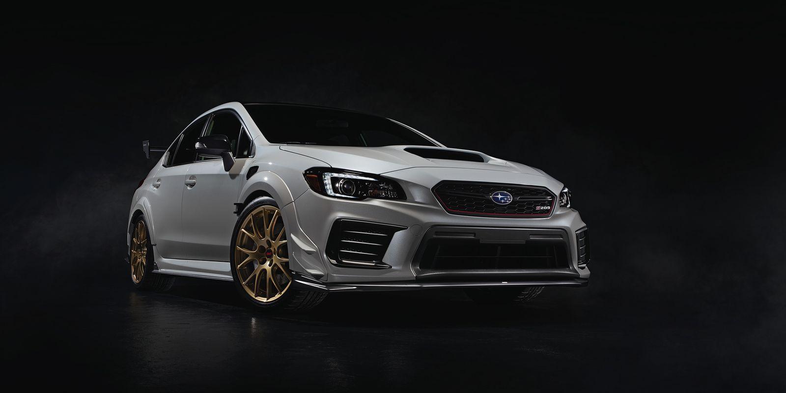 The 2020 Subaru WRX STI S209 Finally Gives the STI a Real