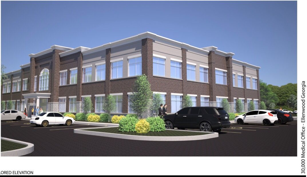 Fairview Medical Urgent Care under construction. The new