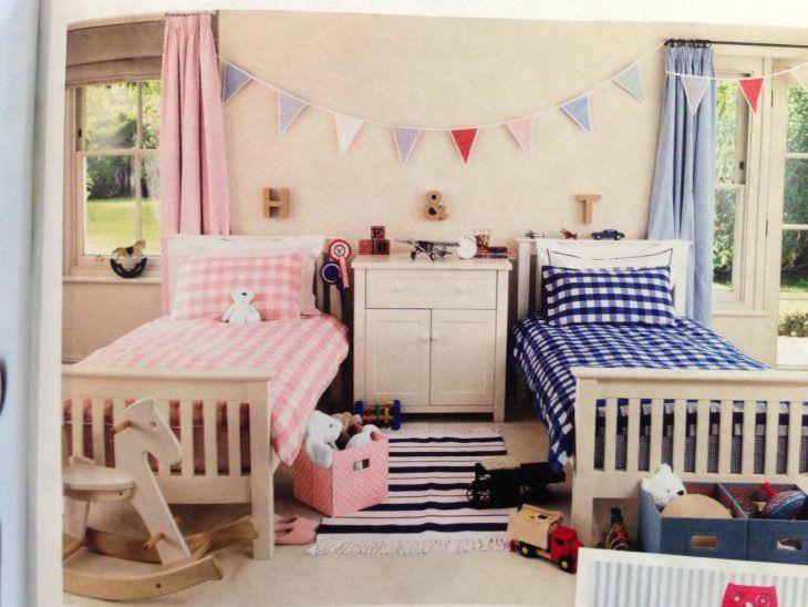camas para niño y niña en el mismo cuarto | Habitaciones niña ...