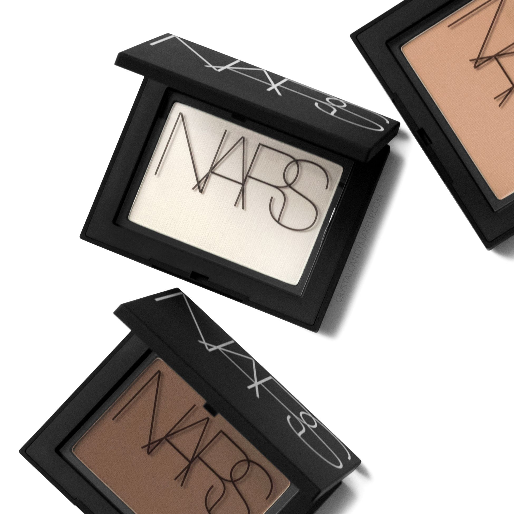 NARS' new Soft Velvet Pressed Powder Review and Swatches