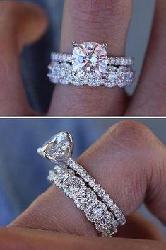 Pin By Elonathegreat On Wedding Bands Wedding Ring Sets Bridal Rings Rose Gold Engagement Ring