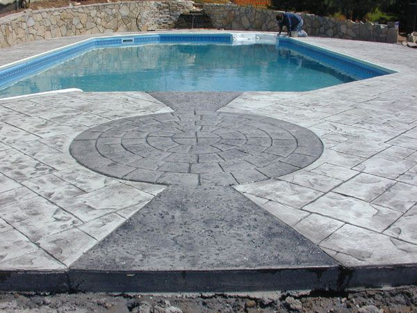 Stamped Concrete | Stamped Concrete Installation Process   A Pictorial  Review Of The .