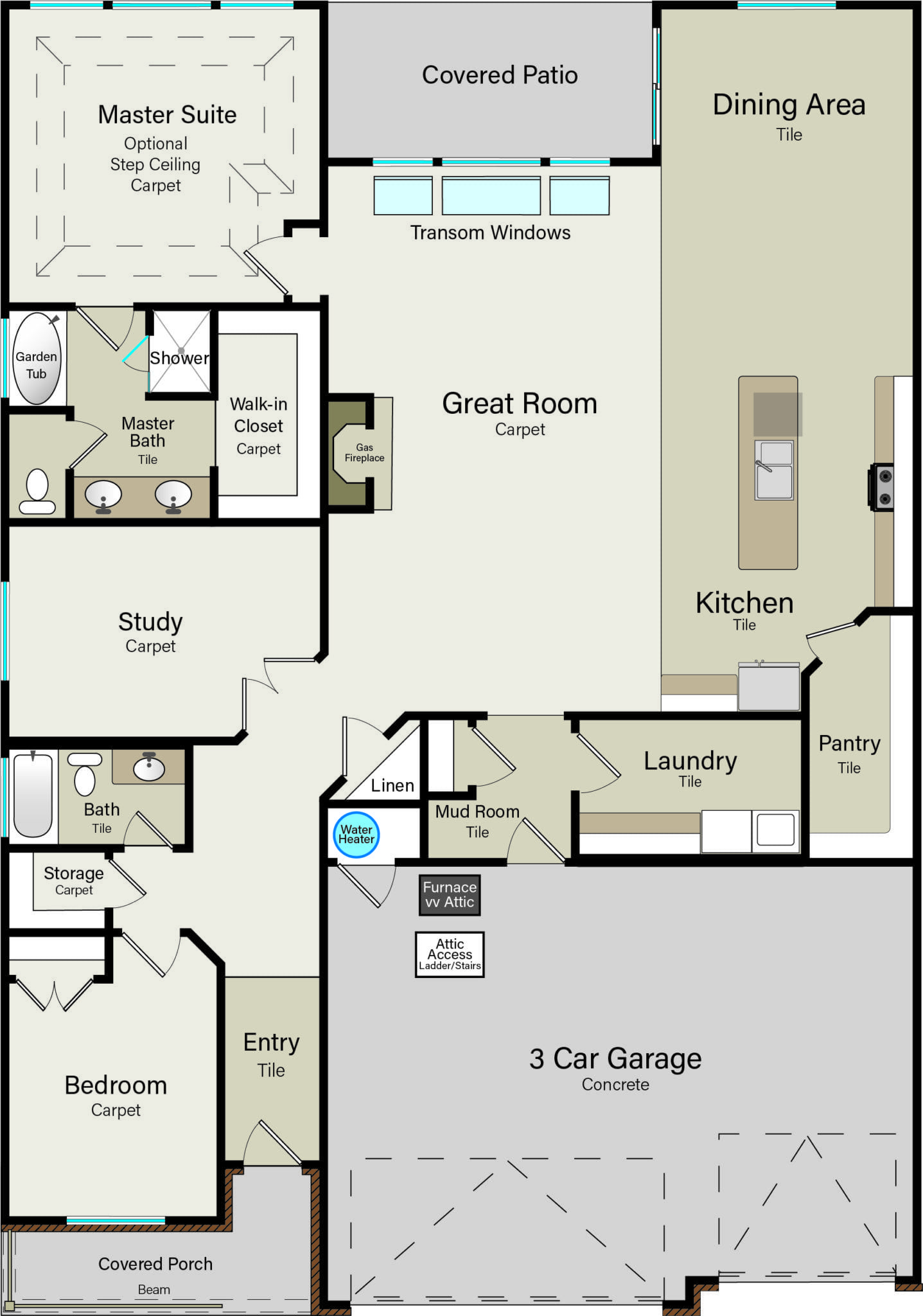 Havenwood Ovation Homes Dream House Plans House Blueprints Barndominium Floor Plans