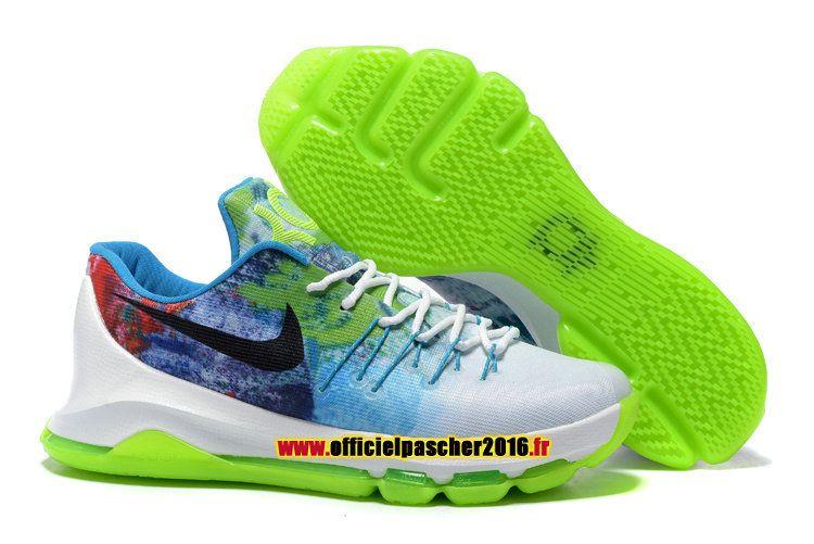 afb8100a4d Officiel Nike KD 8/VIII Chaussures Nike Basket-ball Pas Cher Pour Homme  Multicolor
