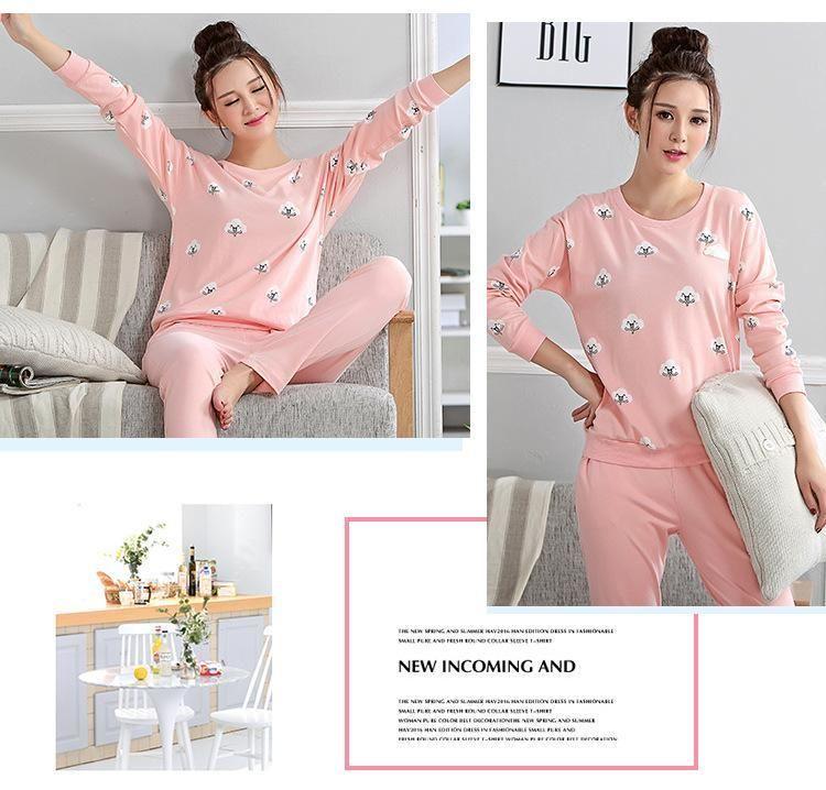 Plus Size Pajamas Bust 96 112cm Plus Size Nightwear Big Size Sleepwear Winter Pajamas Women Female Pajama Winter Pajamas Women Pajamas Women Plus Size Pajamas