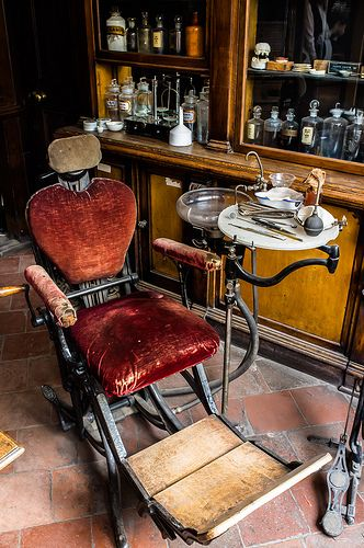 f763f62513cda87504f02418a5029798 the dentists chair dental, dentistry and history
