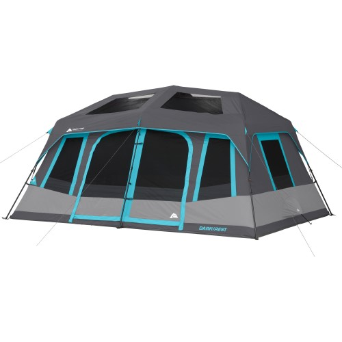 Ozark Trail 10 Person Dark Rest Instant Cabin Tent Cabin
