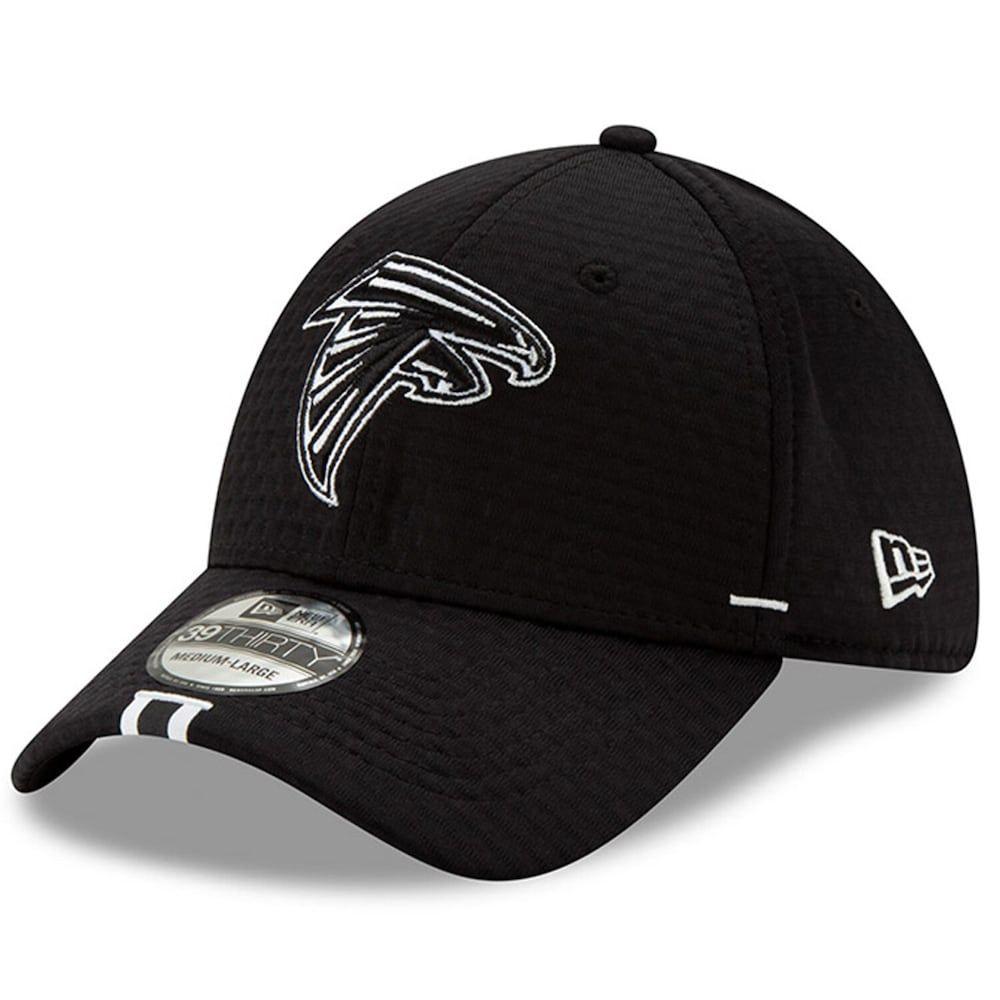 Men S New Era Black Atlanta Falcons 2019 Nfl Training Camp 39thirty Flex Hat Atlanta Falcons Hats For Men Sports Fan Shop