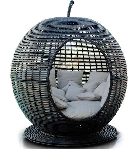 Garden Furniture Apple Pod fruit-shaped patio furniture | apples, patios and backyard