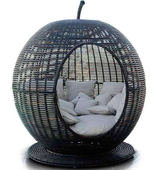 Garden Furniture Apple Pod fruit-shaped patio furniture | apples, patios and backyard