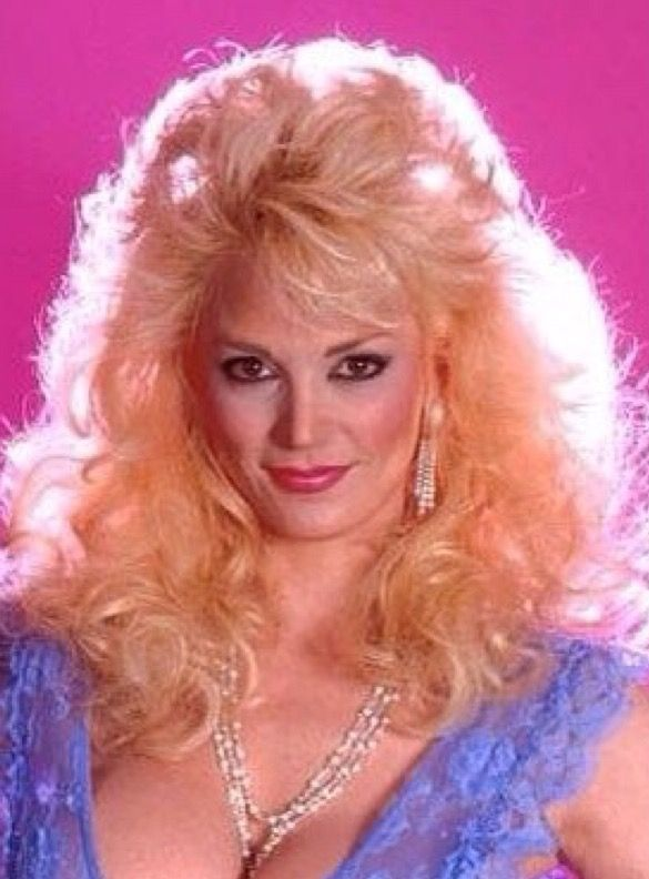Cx 1980s Big Blonde Hair Vintage Hairstyles Long Hair Styles