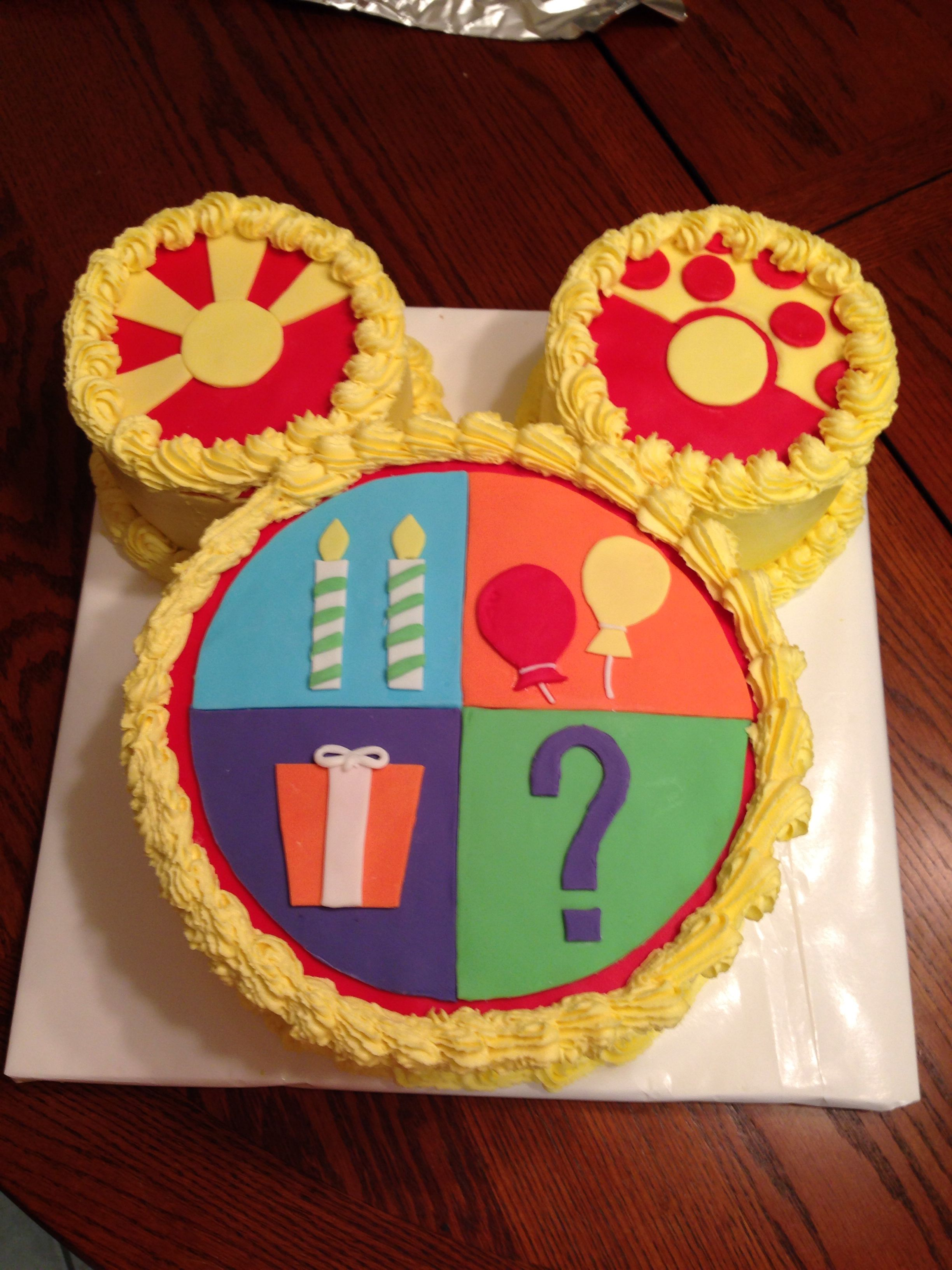Micky Mouse Clubhouse Toodles Cake