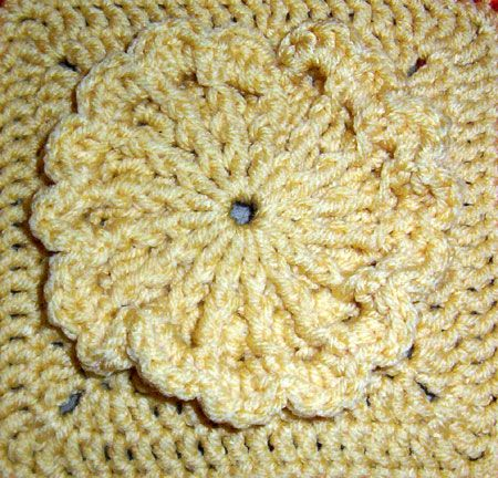 Crochet 6 Inch Block Patterns Crochet Pinterest Crochet