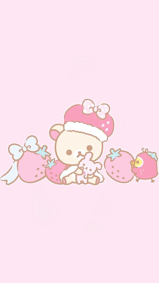 Nozomakis Cute Anime Wallpaper Rilakkuma Wallpaper Sanrio Wallpaper