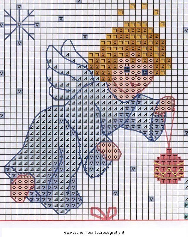 Amato natale_angeli_55 schema punto croce gratis | Moar cross stitch  HE04