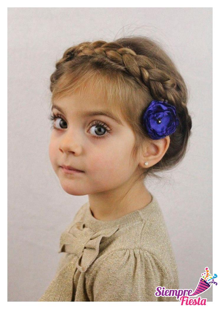 Ideas para peinados infantiles encuentra todo para tu - Todo para tu fiesta infantil ...