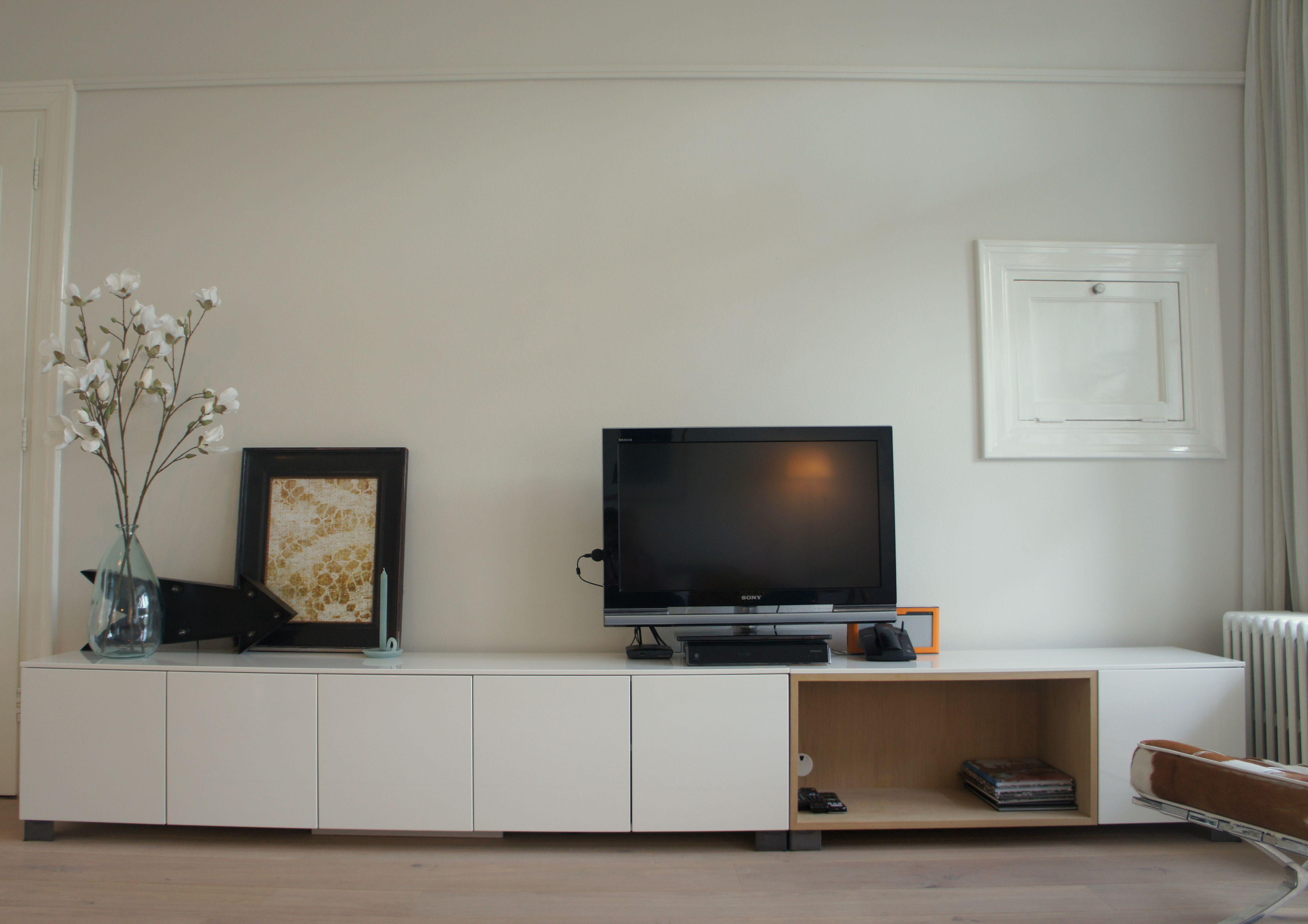 Tv meubel van 100% kast met eigen accessoires. interieurdesign ...