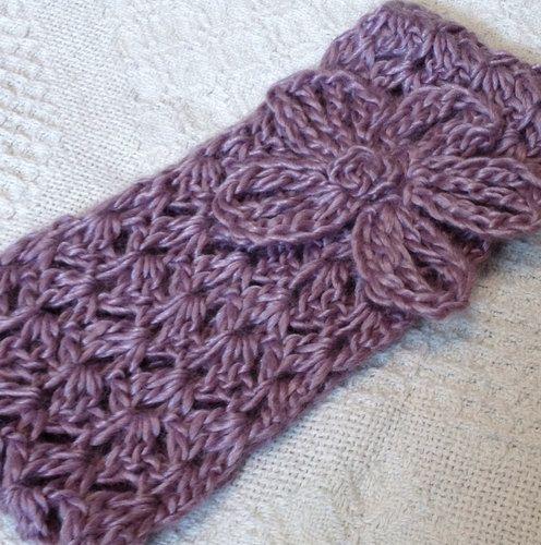 Cluster Headband with Daisy ~ free pattern | Crochet & Knitting ...