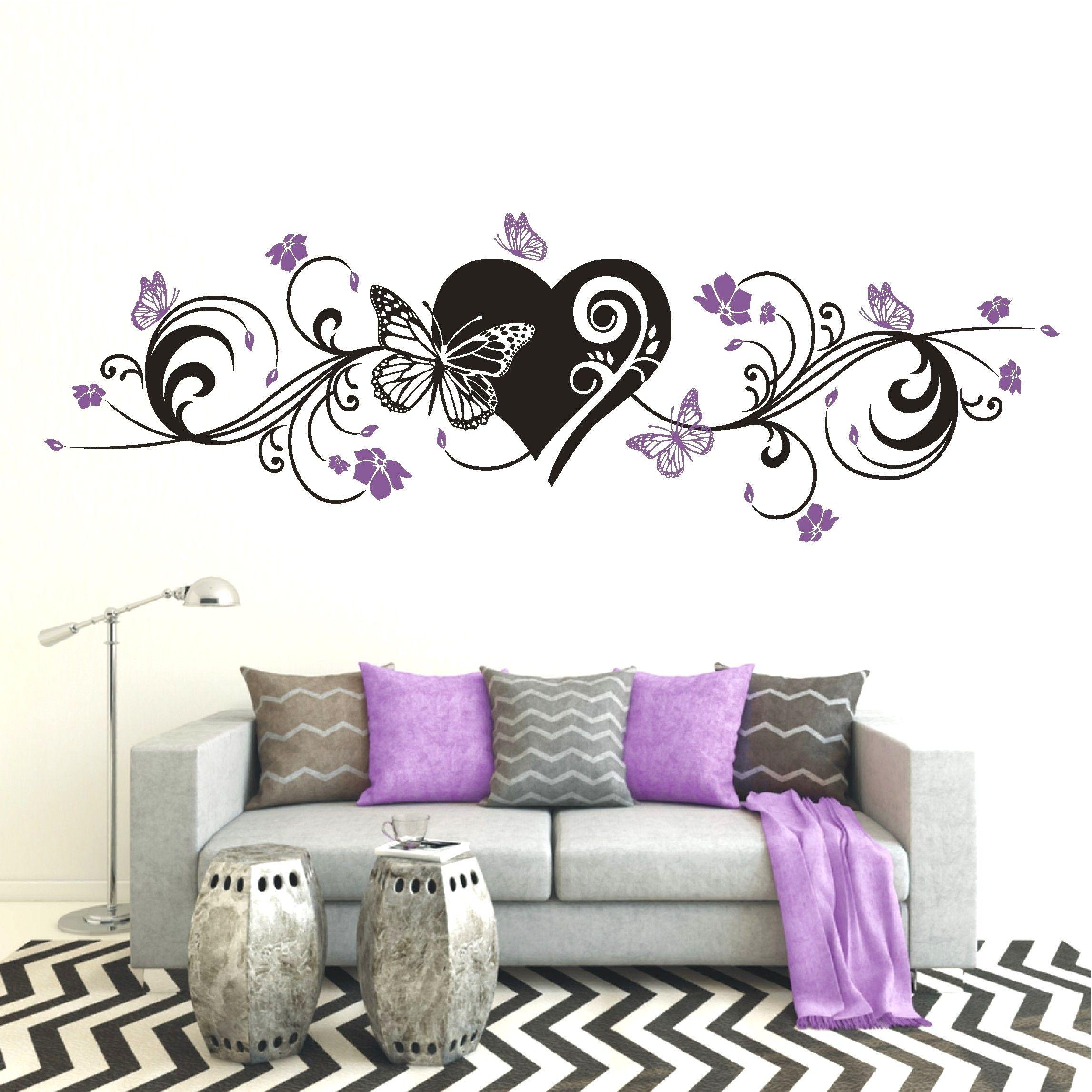Wandtattoo Selber Malen Wandtattoo 3d Wanddekor Blumenranken