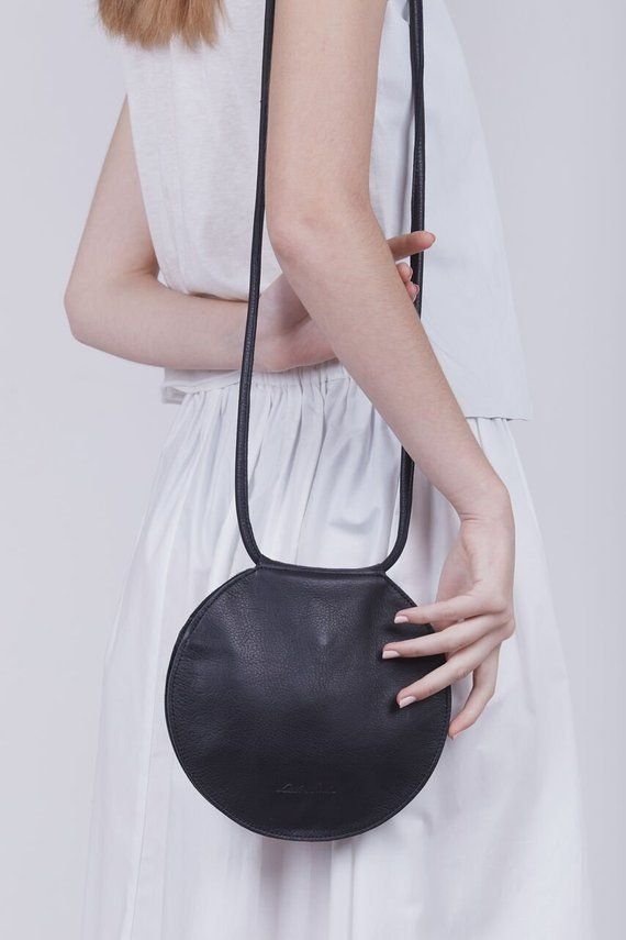 Leather Circle Bag a5bc8d2f24b7a