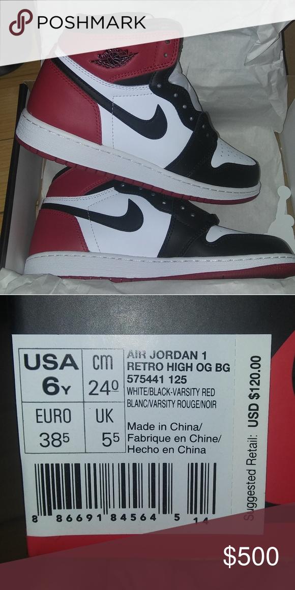 I just added this listing on Poshmark: Air Jordan 1 Retro High OG ...