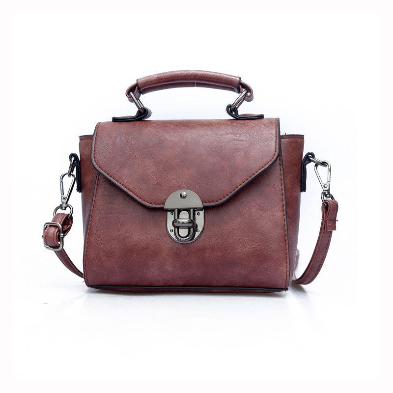 38b7ac99e6 Promotion 2017 New Arrival Handbag Women Messenger Bag Vintage Women- Messenger-Bags Lock Dames