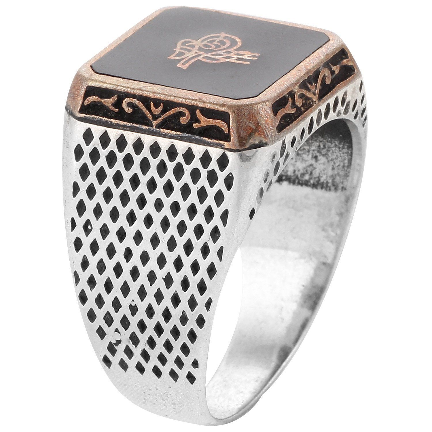 Buy Define Jewellery Silver ring for Men DFR0069 line at Low