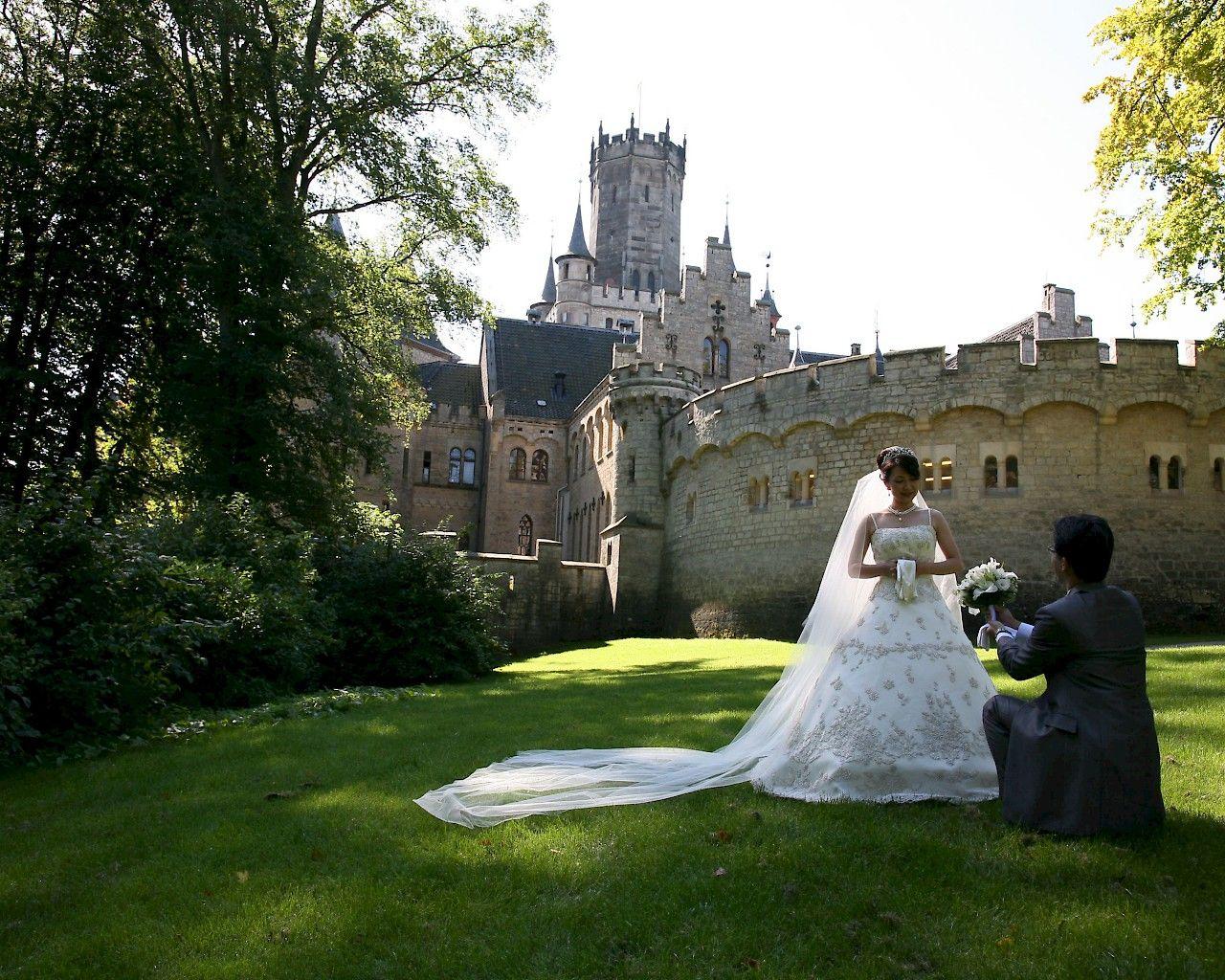 Heiraten Auf Schloss Marienburg Hochzeit Schloss Heiraten Hochzeit