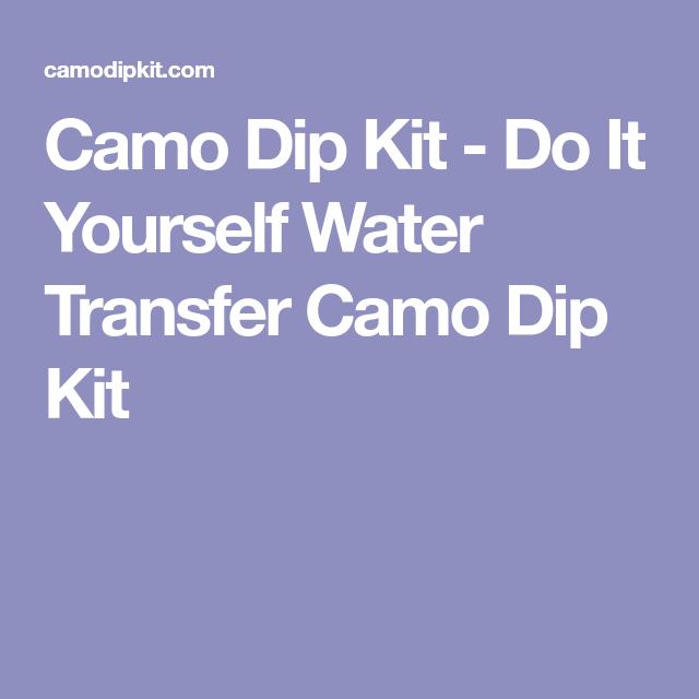 Camo dip kit do it yourself water transfer camo dip kit camo dip kit do it yourself water transfer camo dip kit solutioingenieria Images