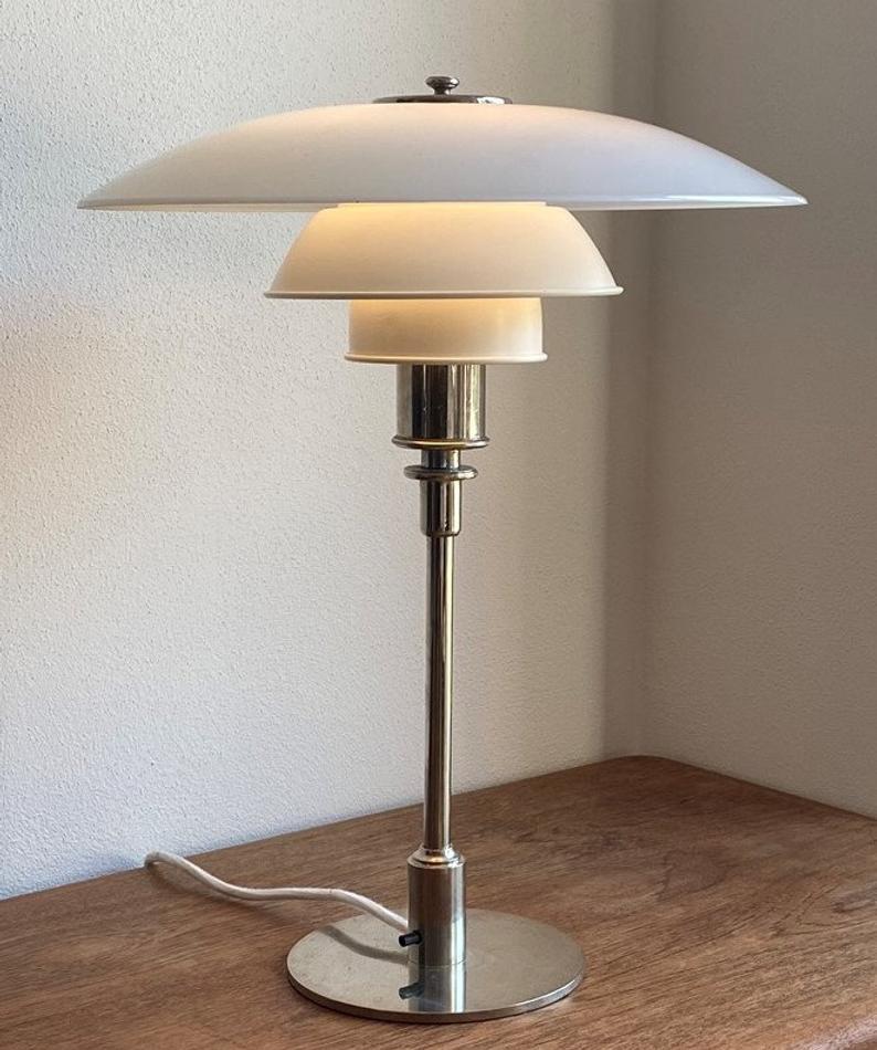 Poul Henningsen 4 3 Etsy Poul Henningsen Table Lamp Lamp